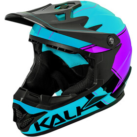 Kali Zoka Casque Homme, blue/purple/black